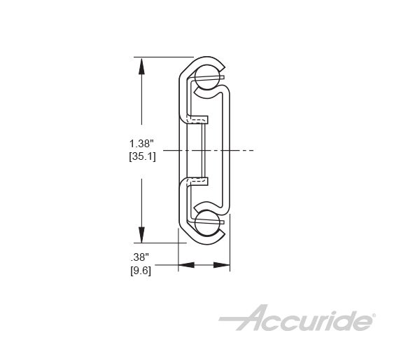 Medium-Duty 3/4-Extension Slide with Lock-Out and Latch-Disconnect