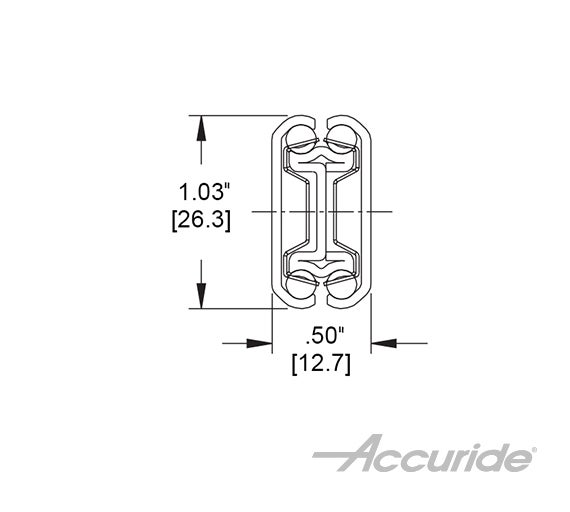 Light-Duty Slide with Hold-In Detent