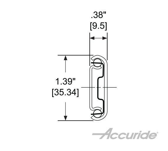 Light-Duty 3/4-Extension and Corrosion-Resistant Slide